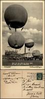 CARTOLINE - AVIAZIONE - Germania - Bitterfeld Ballonwettfliegen - 26.7.1936 - Stamps