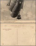CARTOLINE - AVIAZIONE - La Navicella Di Un Pallone Osservatorio - Nuova - Piega Diagonale Angolo Basso Sinistro - Stamps