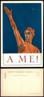 """CARTOLINE - PROPAGANDISTICHE - Elezioni Del 1924 - Partito Nazionale Fascista - """"A Me!"""" - Illustratore Sacchetti - Nuova - Stamps"""