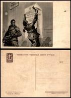 """CARTOLINE - PROPAGANDISTICHE - Fed. Naz. Arditi D'Italia - """"I Pionieri Di S.Sepolcro"""" - Illustratore Pisani - Nuova FG - Stamps"""