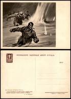 """CARTOLINE - PROPAGANDISTICHE - Fed. Naz. Arditi D'Italia - """"…l'acqua Del Piave"""" - Illustratore Pisani - Nuova FG - Stamps"""
