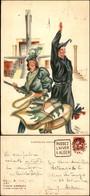 CARTOLINE - PROPAGANDISTICHE - Viaggi G.U.F. Italia-America - Illustratore Franco Garelli - Viaggiata 1934 FG - Stamps