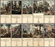 CARTOLINE - PROPAGANDISTICHE - Milizia Eroica - Serie Completa Di 10 Cartoline - Illustratore G.Porcheddu - Nuove FG (65 - Stamps