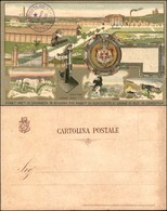 CARTOLINE - MILITARI-VARIE - Stabilimento Militare Di Casaralta In Bologna Per Fabbricazione Di Scatolette Di Carne Di B - Stamps