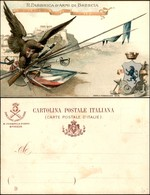 CARTOLINE - MILITARI-VARIE - Regia Fabbrica D'armi Di Brescia - Nuova - Stamps