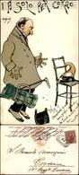 CARTOLINE - MILITARI/UMORISTICHE - Solo Per Corno - Illustratore Van Dock - Viaggiata 1901 - Piega Orizzontale Al Centro - Stamps