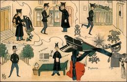CARTOLINE - MILITARI/UMORISTICHE - Militari A Modena - Illustratore John - Nuova - Stamps