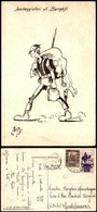 CARTOLINE - MILITARI/UMORISTICHE - Saccheggiatori Di Bengasi - Illustratore Nastriani - Viaggiata 1941 FG (35) - Stamps