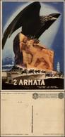 """CARTOLINE - FRANCHIGIA MILITARE - 1941 - Reggimentali - 2° Armata """"Oltre La Meta"""" (F65-5) - Nuova (30) - Stamps"""