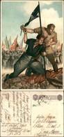 """CARTOLINE - FRANCHIGIA MILITARE - 1941/942 - Boccasile - """"La Disperata"""" (F64B-1) - Viaggiata P.M. 203 4.1.43 - Stamps"""