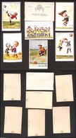 CARTOLINE - SPORT - Foot-ball 1° Serie - 6 Cartoline In Custodia Originale - Illustratore Faroppa - Edizione Off.graf.A. - Stamps