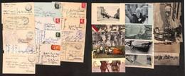 CARTOLINE - LOTTI - Lotticino Di 12 Cartoline Con Annulli Di Posta Militare - Da Esaminare - Stamps