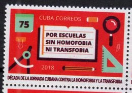 EDUCATION,  2018, MNH, SCHOOLS WITHOUT HOMOPHOBIA, 1v - Stamps
