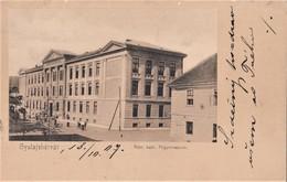 Alba Iulia , Gyulafehérvár , Gymnasium ,  Mures ,  Transylvania - Romania