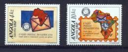 ANGOLA 1990 African Postal Union - Angola