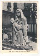 GOUVY - BEHO - Pieta En Chêne Sculpté XVe Siècle. - Gouvy
