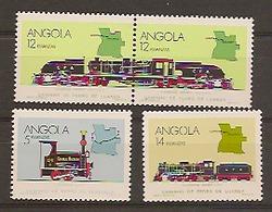 ANGOLA 1990  Locomotives - Angola