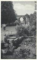 ROCK GARDENS - EIRIAS PARK - COLWYN BAY WITH COLWYN BAY POSTMARK - Denbighshire