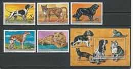 CENTRAFRIQUE  Scott 805-809, 810 Yvert 739-741, PA348-PA349, BF85 ** (5+bloc) Cote 20,00 $ 1986 - Centrafricaine (République)