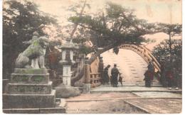 POSTAL   OSAKA  -JAPON  - AREHED BRIDGE AT SUMIYOSHI TEMPLE - Osaka
