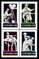 Canada (Scott No.1252-55 - Arts De La Scène / Performing Arts) [**] - 1952-.... Règne D'Elizabeth II