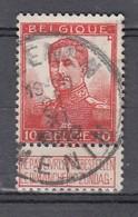 111 Gestempeld MEENEN - MENIN - COBA 4 Euro - 1912 Pellens