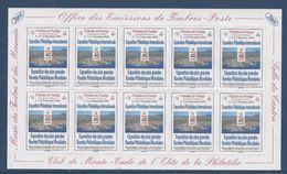 Monaco - 2000 - Expo Monacophil - Vignettes Adhésives - Musée Des Timbres Et Des Monnaies Club De Monte Carlo - Neufs ** - Monaco