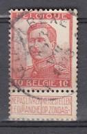118 Gestempeld MEIRELBEKE - COBA 7 Euro - 1912 Pellens
