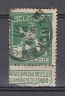 110 Gestempeld MERCKEM - COBA 20 Euro - 1912 Pellens