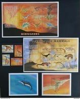 Antigua Barbuda 1999** Mi.2940-43, Klb.2944-52, 2953-61 + Bl.426, 427. Prehistoric Animals [18;146-50] - Prehistorics
