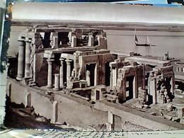 EGITTO  EGYPT  EGYPTE KOM OMBO TEMPLE STAMP TIMBRE SELO 20 M  1962 GX5687 - Aswan