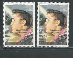 CENTRAFRIQUE  Scott 851A-851B Yvert 771-772 ** (2) Cote 8,00 $ 1987 - Centrafricaine (République)