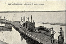 UKRAINE   ODESSA  - LIMAN  ANDREYEWSKY - EXPLORATION DE LA CROTTE LIMANOISE - Ukraine