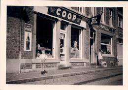 Foto Photo (9 X 12,5 Cm) Comblain-au-Pont ?? Epicerie Coop (reclamebord Coca-Cola ) - Comblain-au-Pont