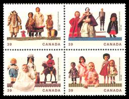 Canada (Scott No.1274-77 - Trésors Culturels [Poupées] / Cultural Treasures [Dolls]) [**] - 1952-.... Règne D'Elizabeth II