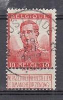 111 Gestempeld OOSTENDE 2 - COBA 7 Euro - 1912 Pellens