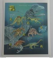 Nevis 1999** Klb.1343-48. Prehistoric Animals MNH [13;3] - Prehistorics