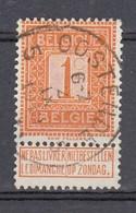 108 Gestempeld OOSTENDE 5 - COBA 7 Euro - 1912 Pellens