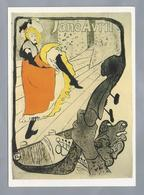 FR.- Toulouse-Lautrec. Jane Avril. Lithographie, Plakat. - Schilderijen
