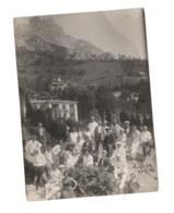 Soviet Russia Crimea Alupka Group Of Tourists 1935 - Lugares
