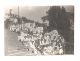 Soviet Russia Crimea Alupka Leo Group Of Tourists 1935 - Lugares
