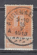 108 Gestempeld AUDENAERDE A - COBA 7 Euro - 1912 Pellens