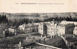 ¤ Sainte Menehould - Panorama De La Place De L ' Hôtel De Ville - Sainte-Menehould