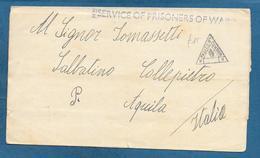 PRISONERS OF WAR KRIEGSGEFANGENENPOST PRIGIONIERI DI GUERRA 1942 PASSED CENSOR BOMBAY INDIA - Documents