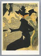 FR.- Toulouse-Lautrec. Divan Japonais. Lithographie, Plakat. - Schilderijen