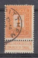 108 Gestempeld PITTHEM - COBA 8 Euro - 1912 Pellens