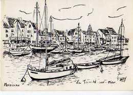 56  LA TRINITE SUR MER ; Illustrateur Dazy - La Trinite Sur Mer