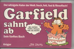 GARFIELD SAHNT AB 1986 - SEIN FÜNFTES BUCH - Books, Magazines, Comics