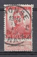 111 Gestempeld RONSE - RENAIX D - 1912 Pellens