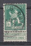 110 Gestempeld RONSE - RENAIX D - 1912 Pellens